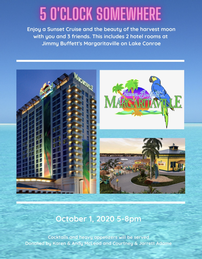 Sunset Cruise and Margaritaville Hotel Stay 202//259